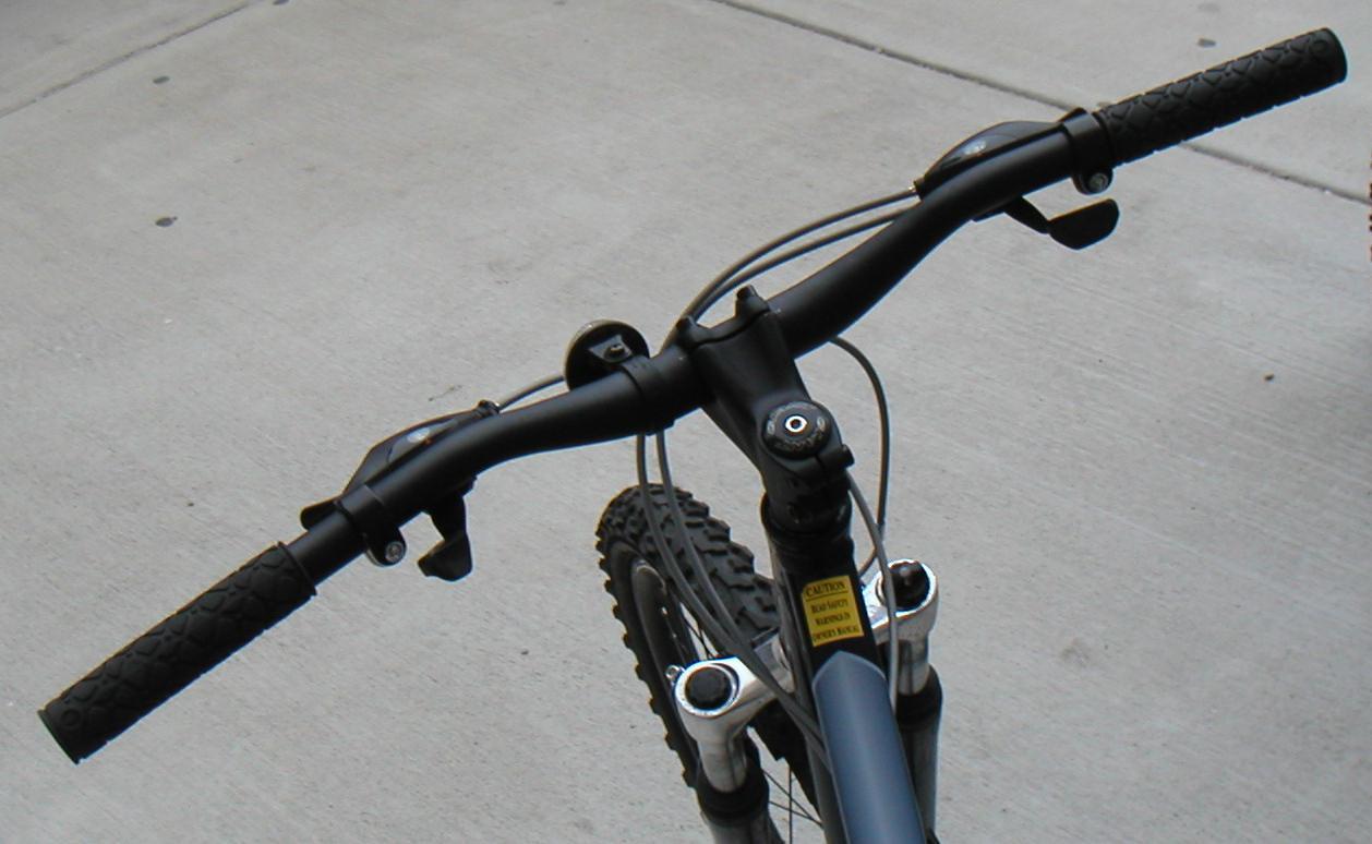 Mountain bike handlebar length