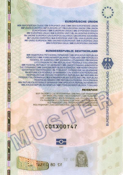 German Passport Wikiwand