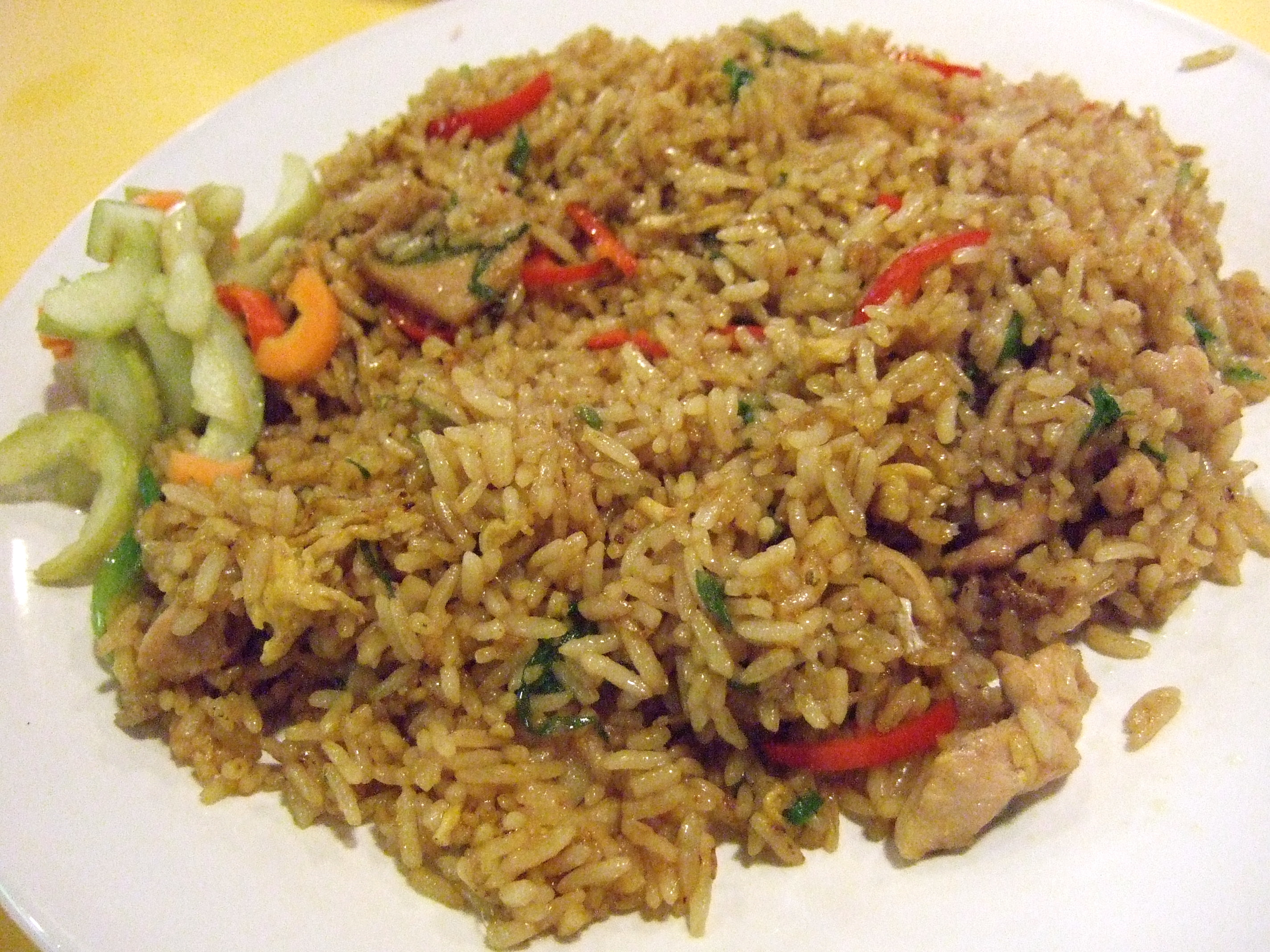 Traditional Malaysian Rice Dishes