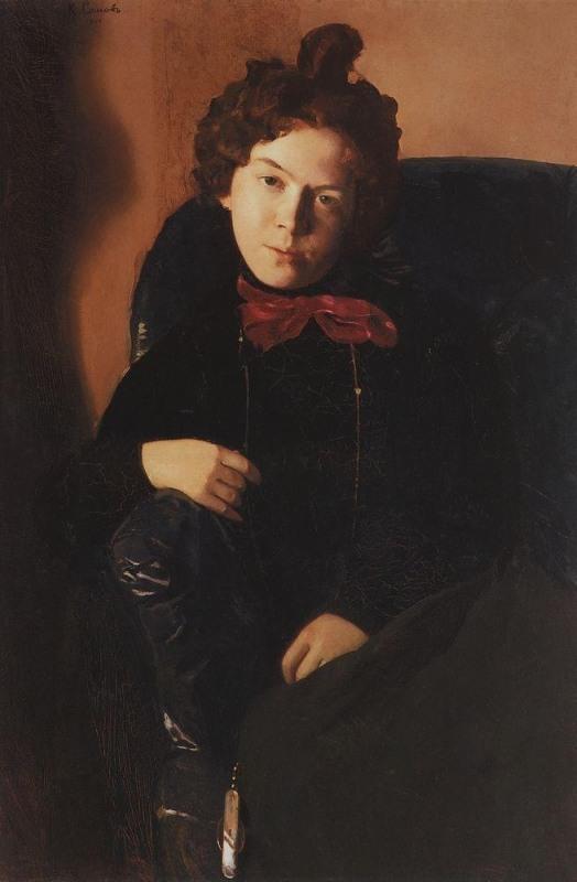 Ostroumova-Lebedeva by K. Somov (1901).jpg