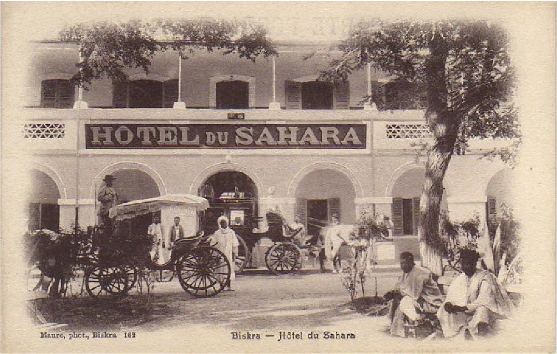 رحلة إلى بسكرة بالجنوب الجزائري P162-ABM-Biskra-Hotel_du_Sahara