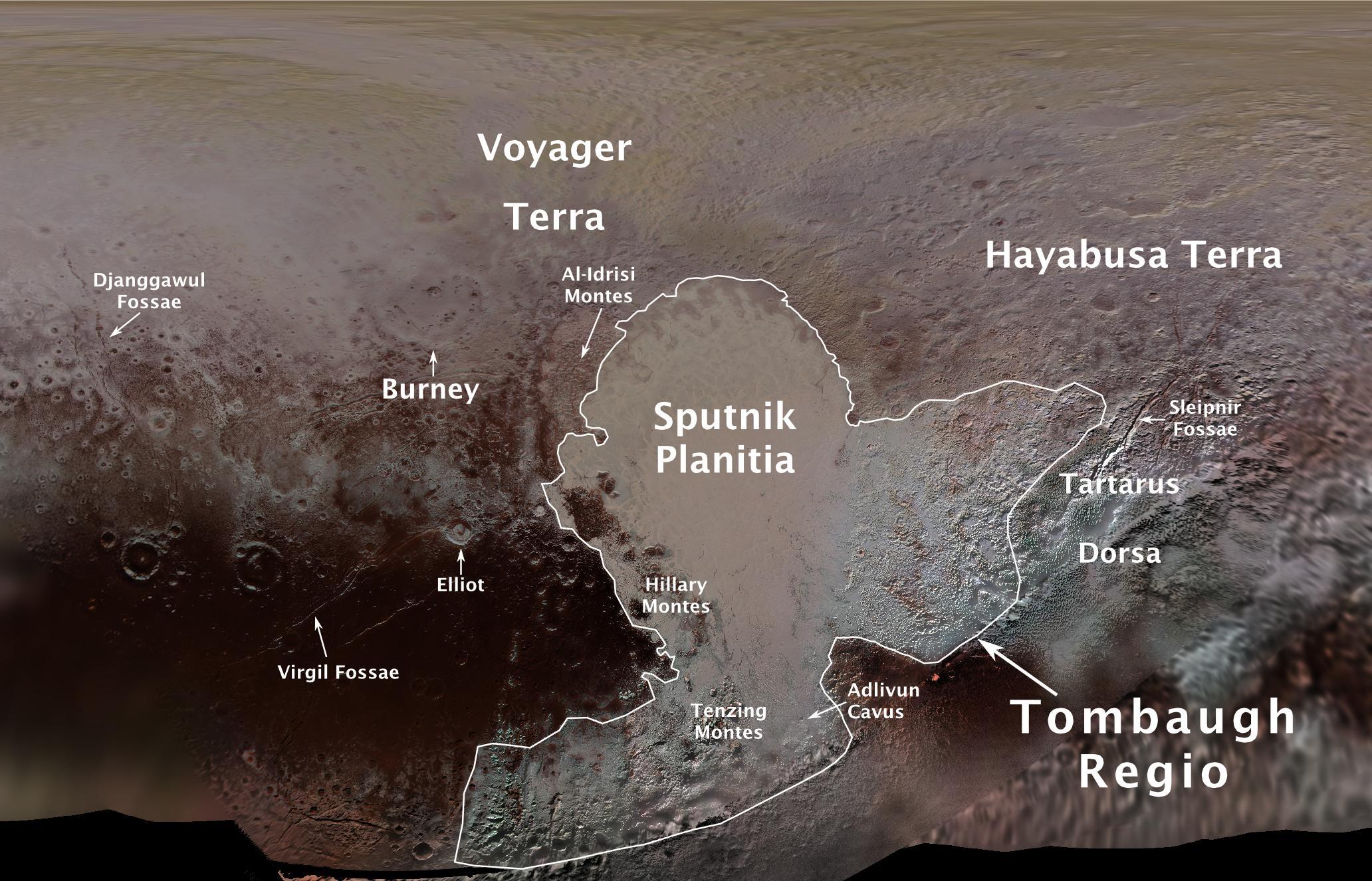 Resultado de imagen para imagen virgil fossae
