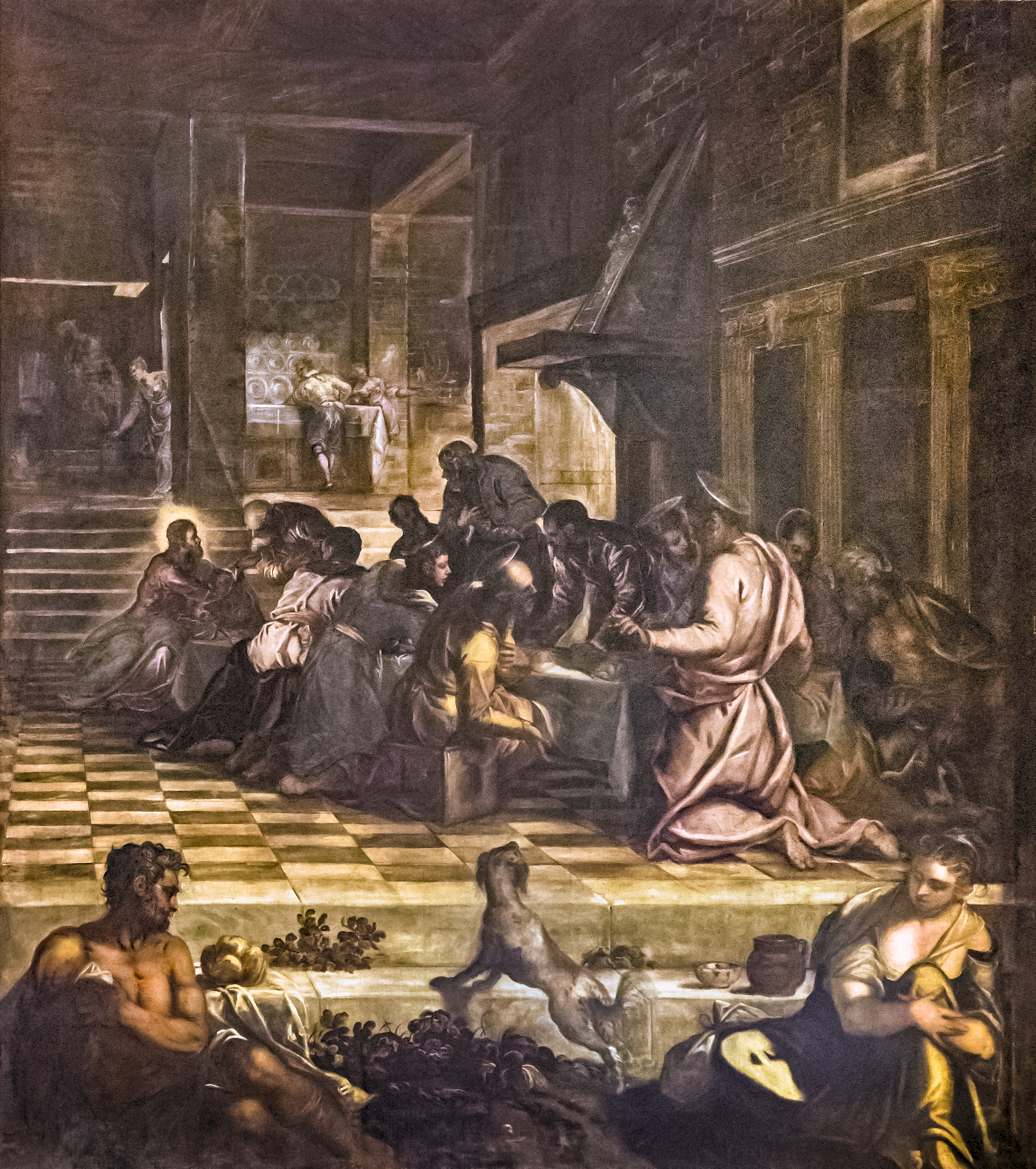 where is last supper painting located today