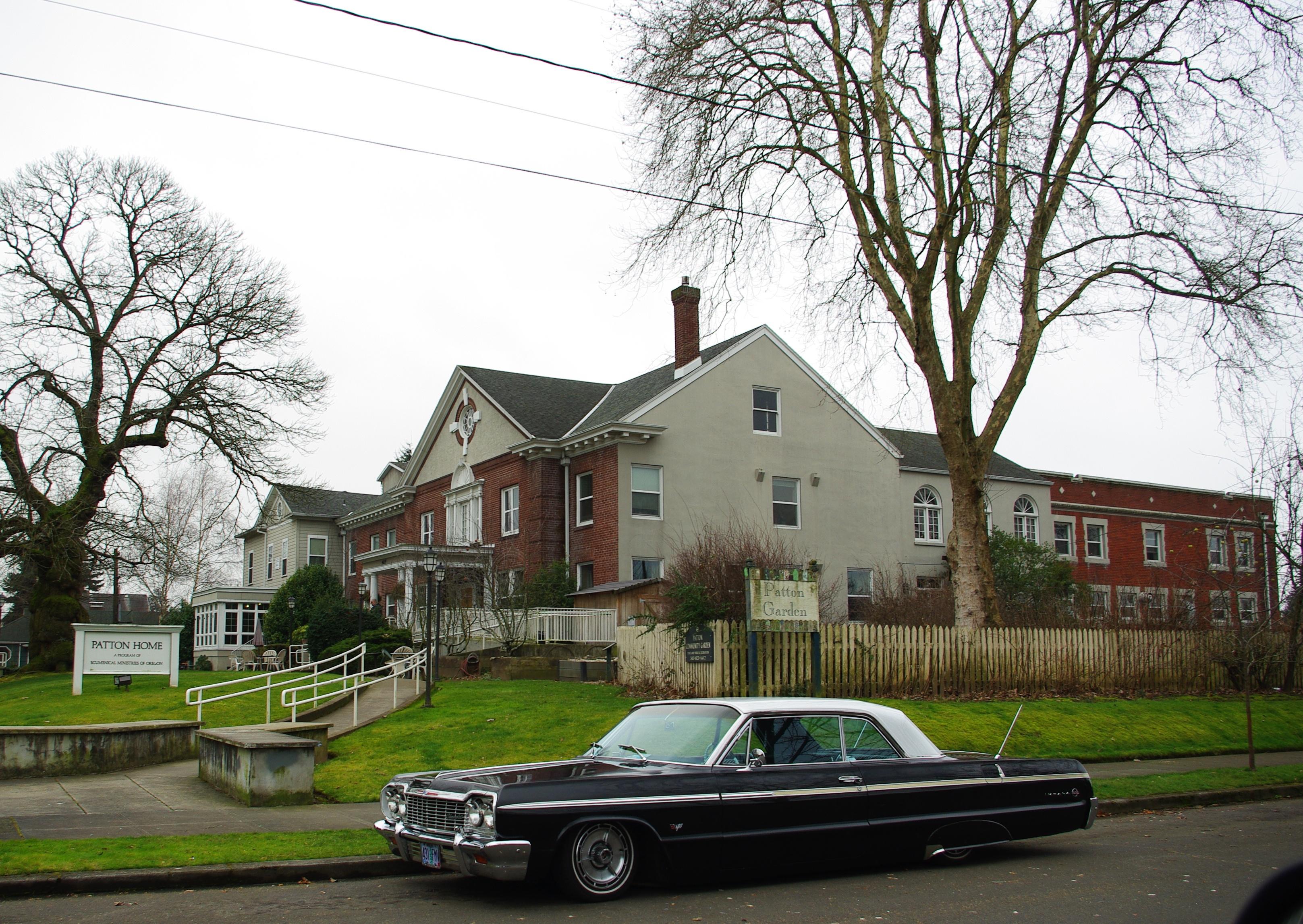 File patton home wide portland oregon jpg wikipedia for Portland home