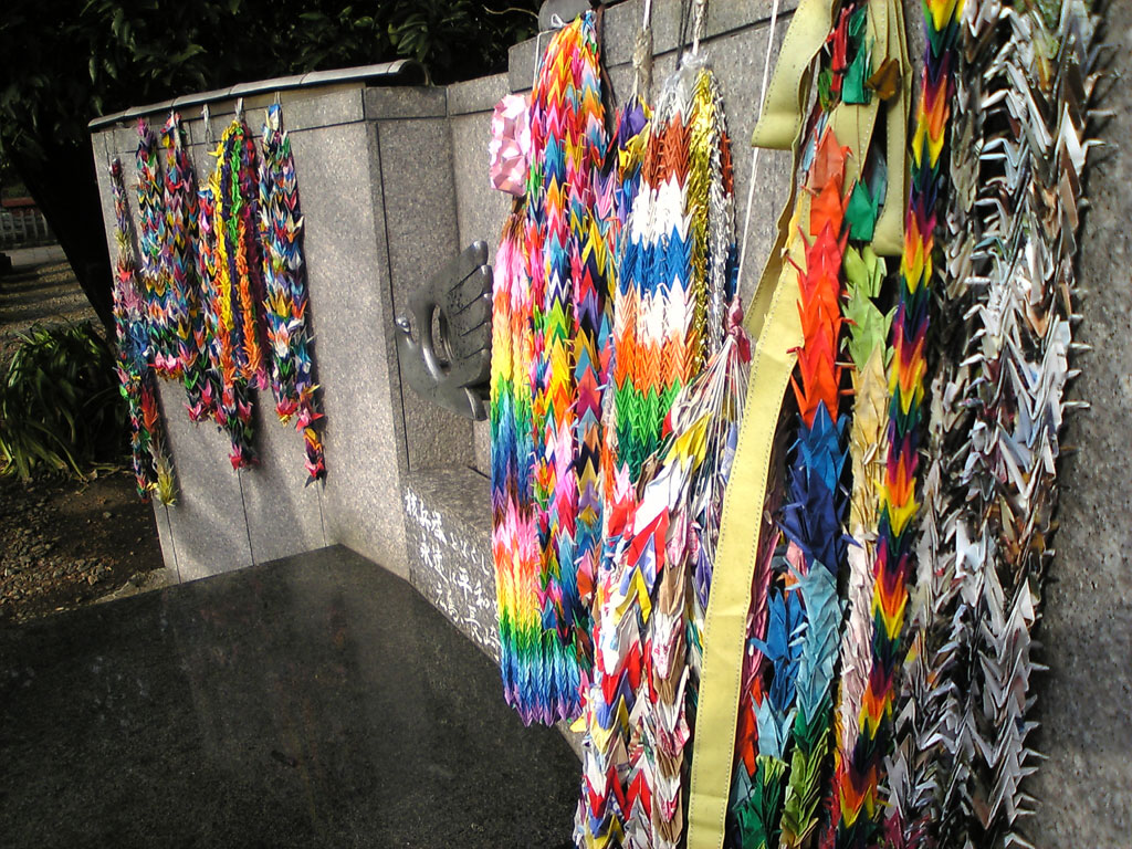 one thousand origami cranes wiki everipedia
