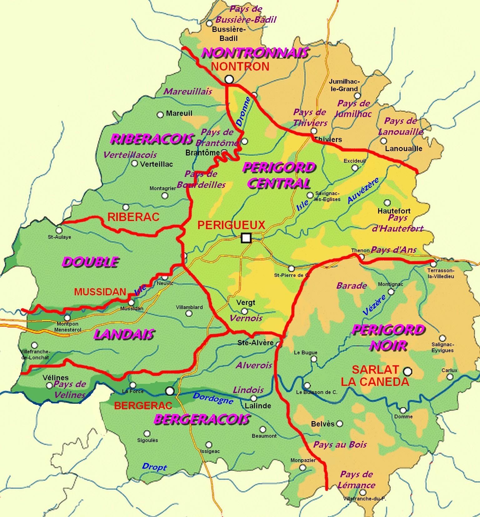carte de la dordogne détaillée File:Perigord Central.   Wikimedia Commons