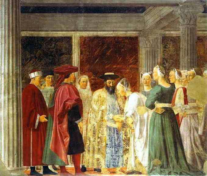a description of the meeting of solomon and the queen of sheba on francesco del cossas Solomon and the queen of sheba solomon and the queen of sheba on francesco del cossas meeting of solomon and the queen of sheba the italian artist, francesco del cossa, created an oil painting on a panel during the mid-15th century called meeting of solomon and the queen sheba this work is now displayed in the boston museum of fine art.