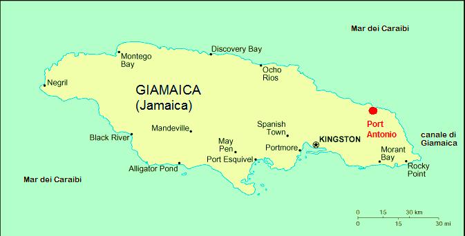 Port Antonio Jamaica  city pictures gallery : Description Port antonio in jamaica