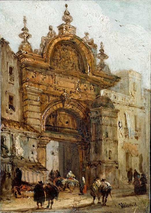Puerta del Arenal (Sevilla) - Wikipedia, la enciclopedia libre