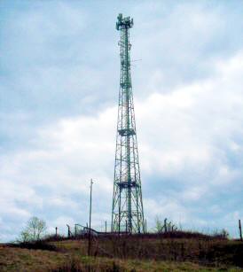 Radio Antenna at Kelvedon Hatch ( M Kenyon )