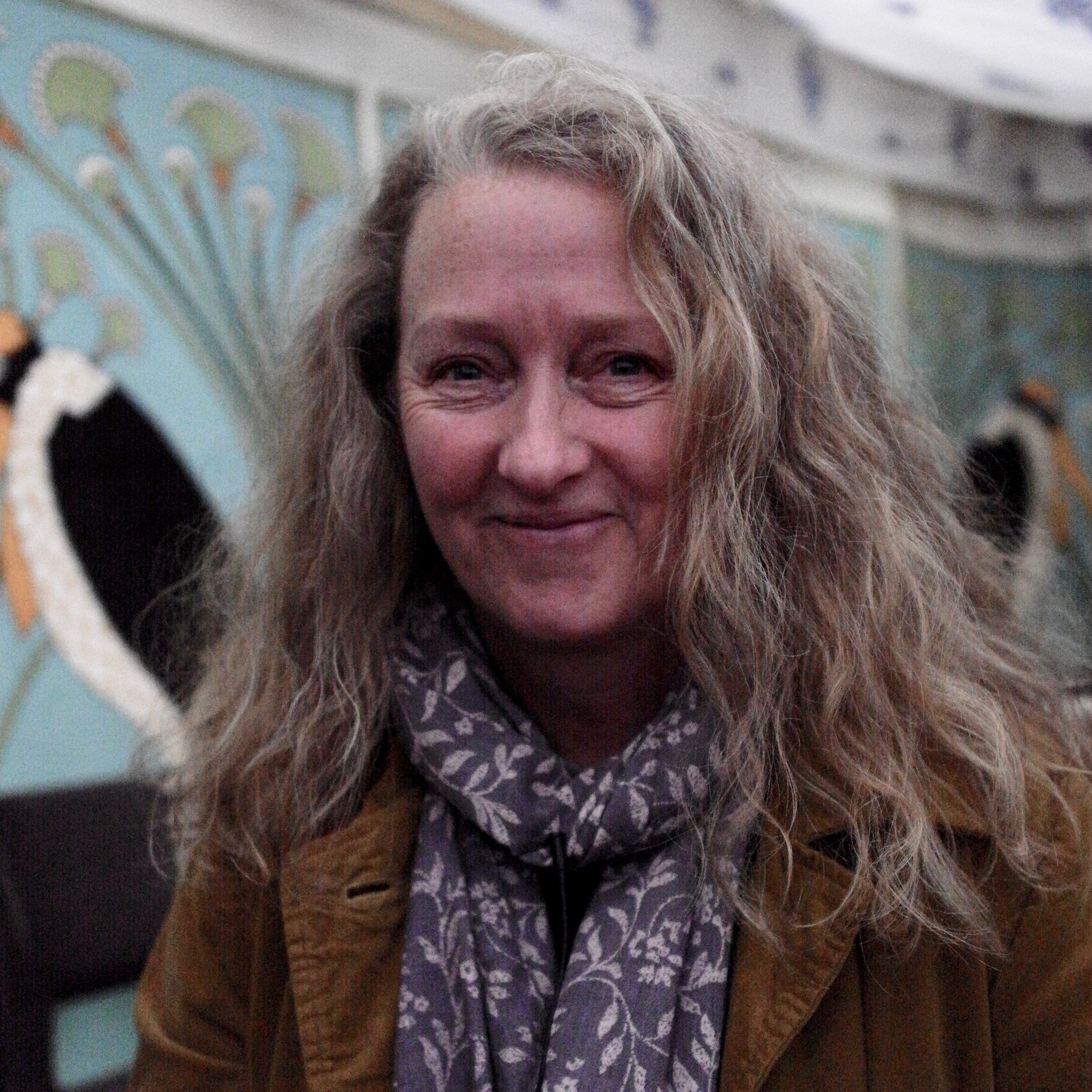 Raynor Winn at the North Cornwall Book Festival October 2019