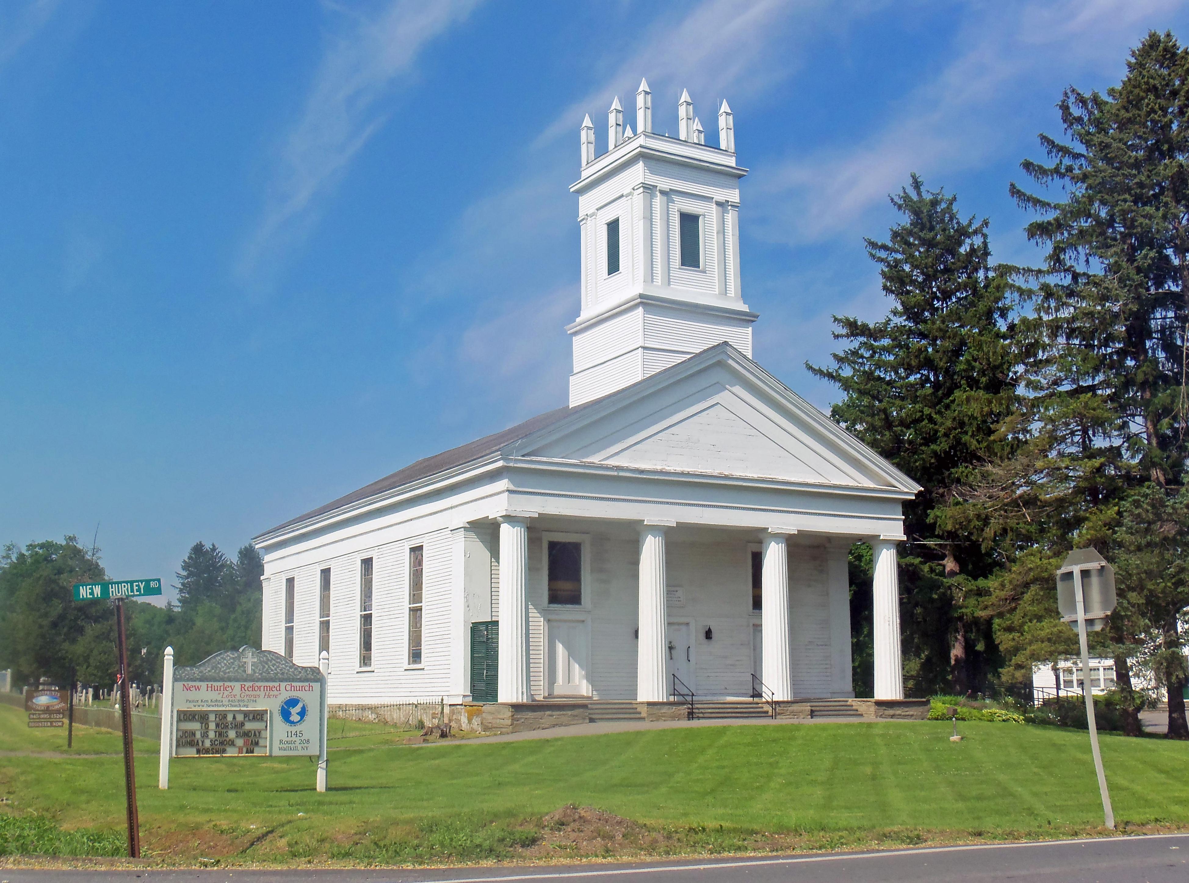 Small Church Organizational Chart: New Hurley Reformed Church - Wikipedia,Chart