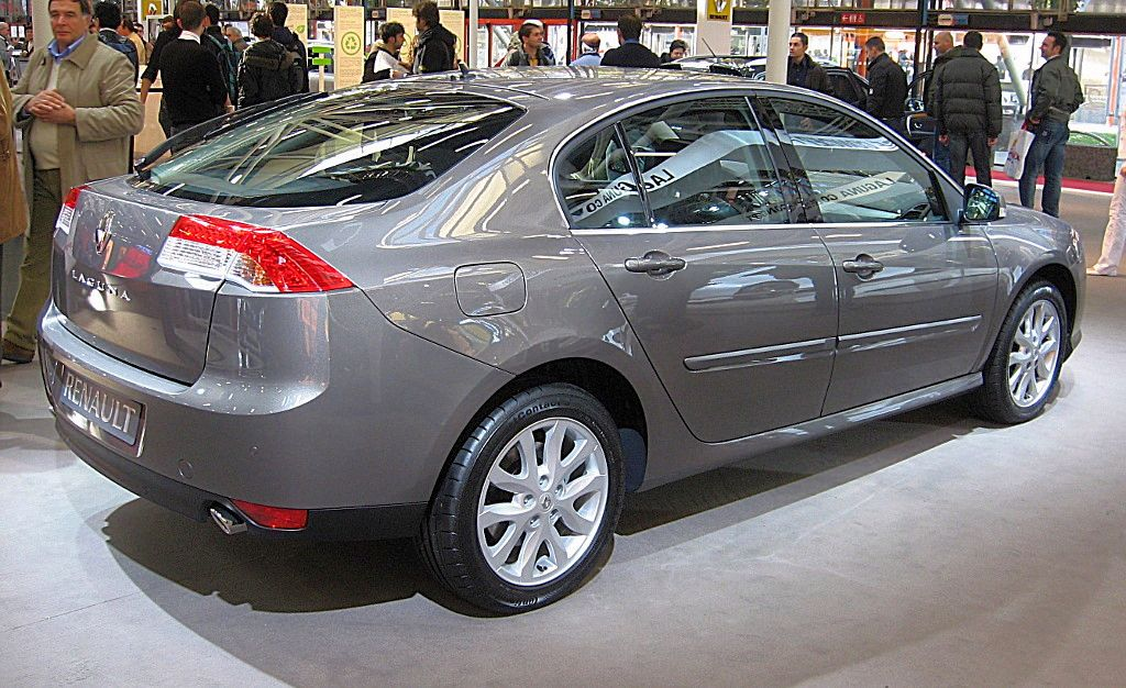 file renault laguna iii rear view jpg wikimedia commons. Black Bedroom Furniture Sets. Home Design Ideas
