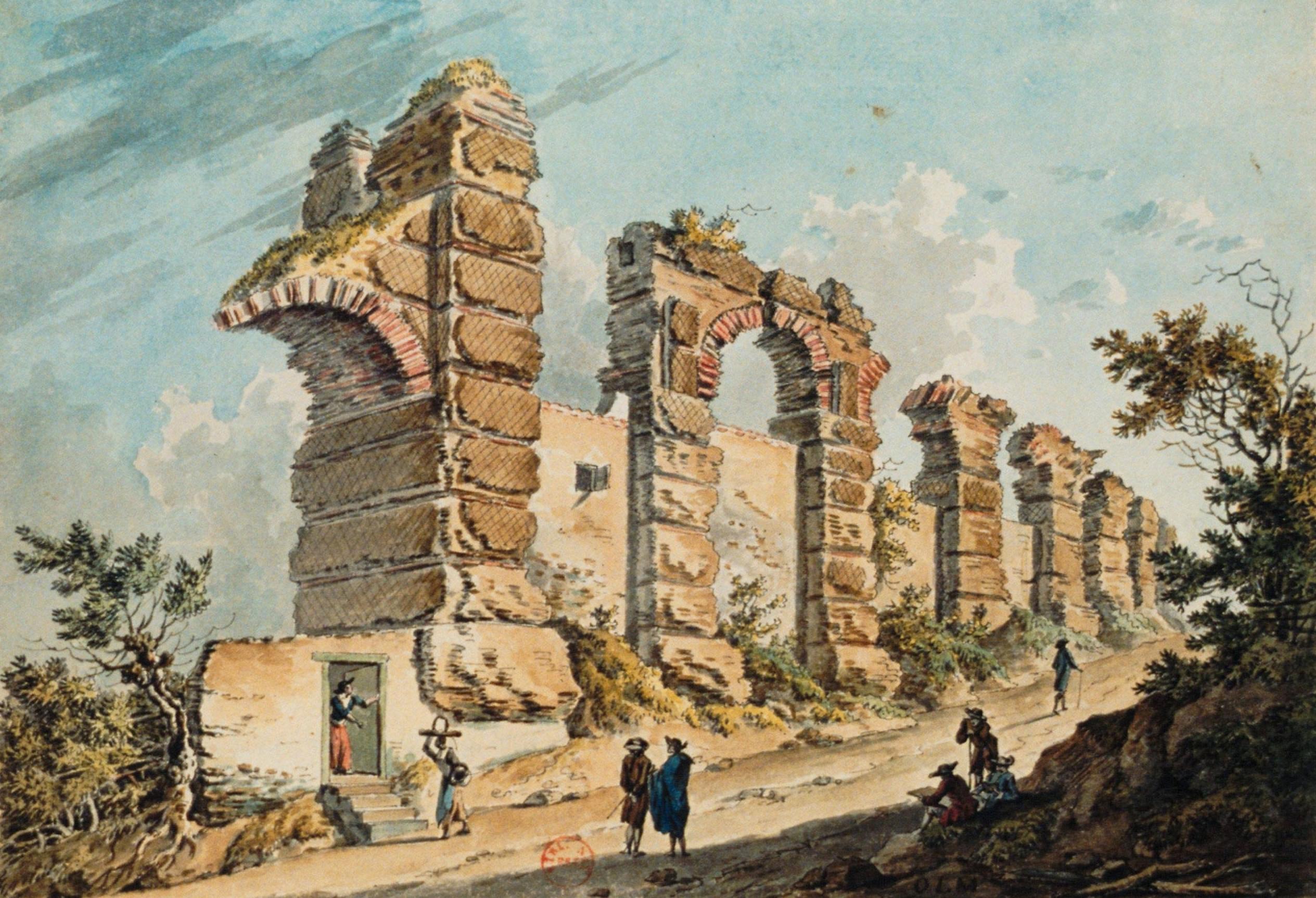 Bibliothèque Ste Foy Les Lyon file:restes aqueduc lyon 178x - wikimedia commons