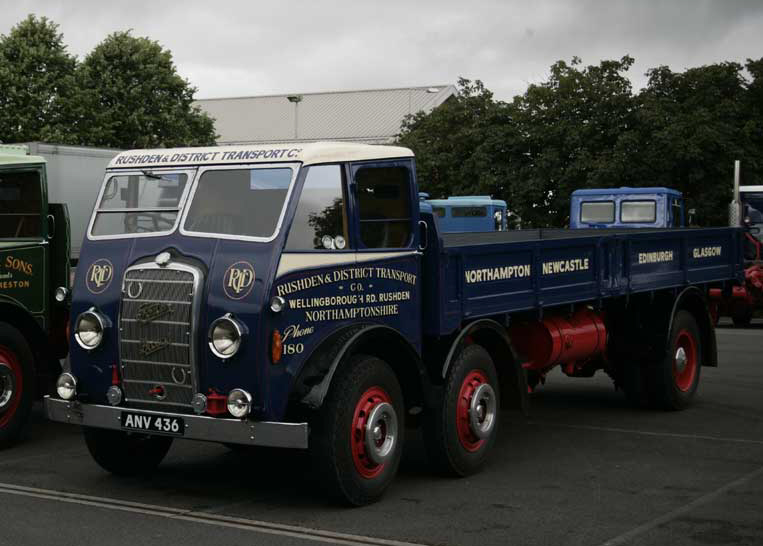 File:Rushden & District Transport Company Foden flatbed