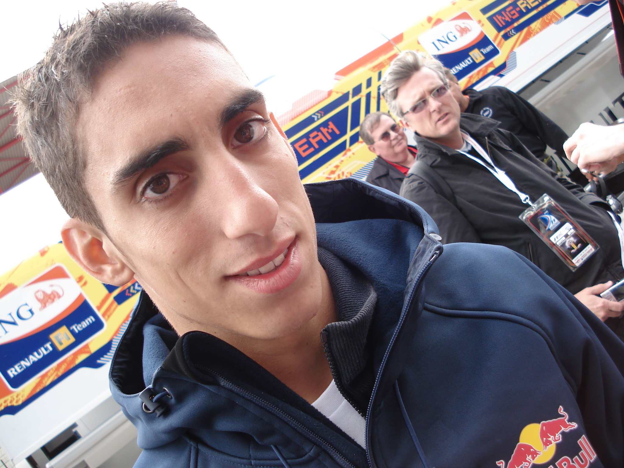 The 28-year old son of father (?) and mother(?), 180 cm tall Sébastien Buemi in 2017 photo