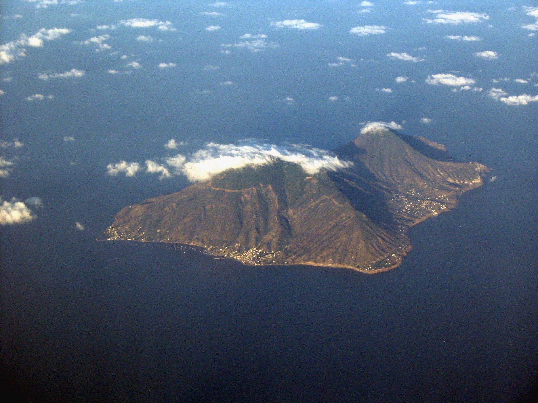 Veduta aerea di Salina