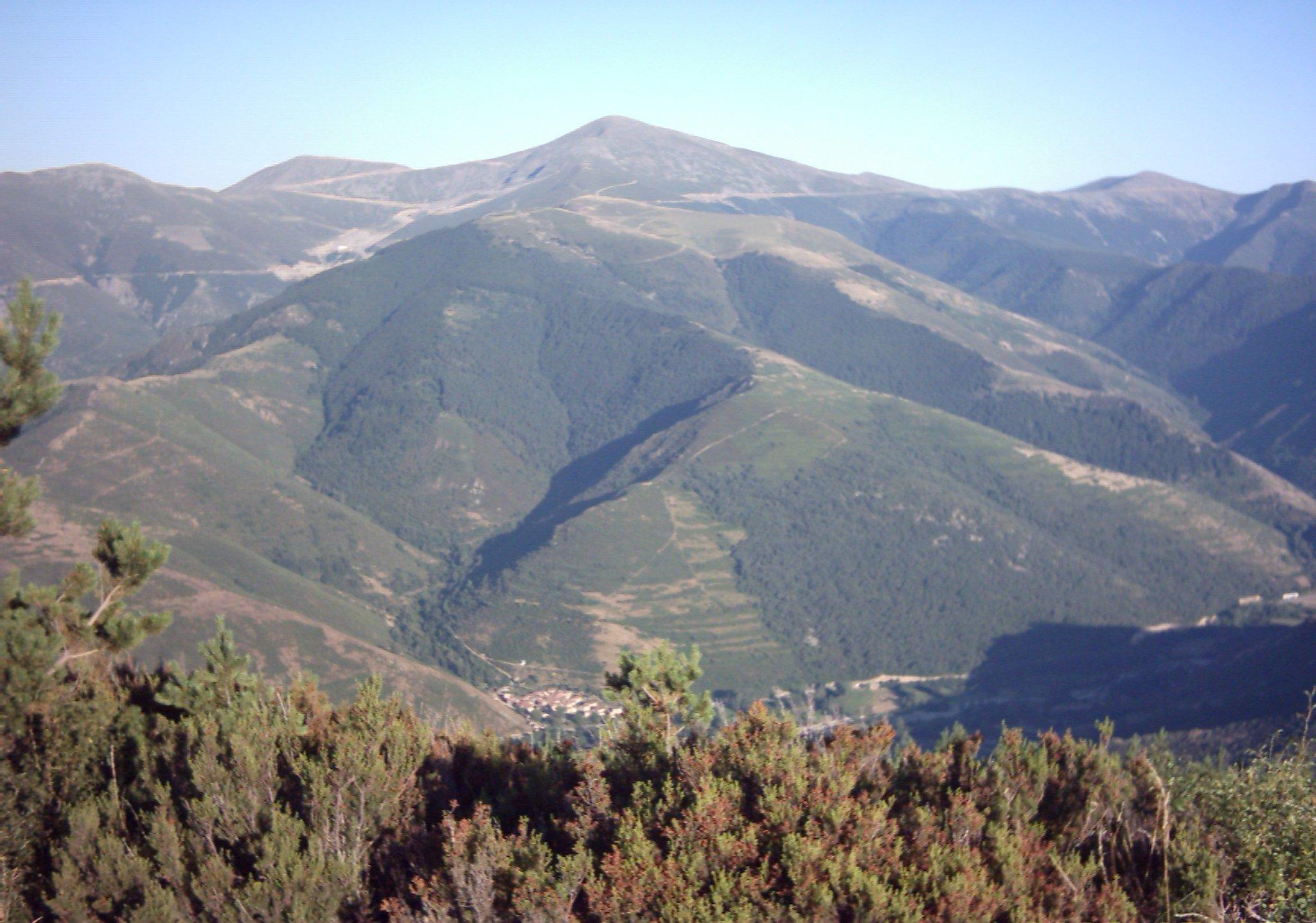 Depiction of Sierra de la Demanda