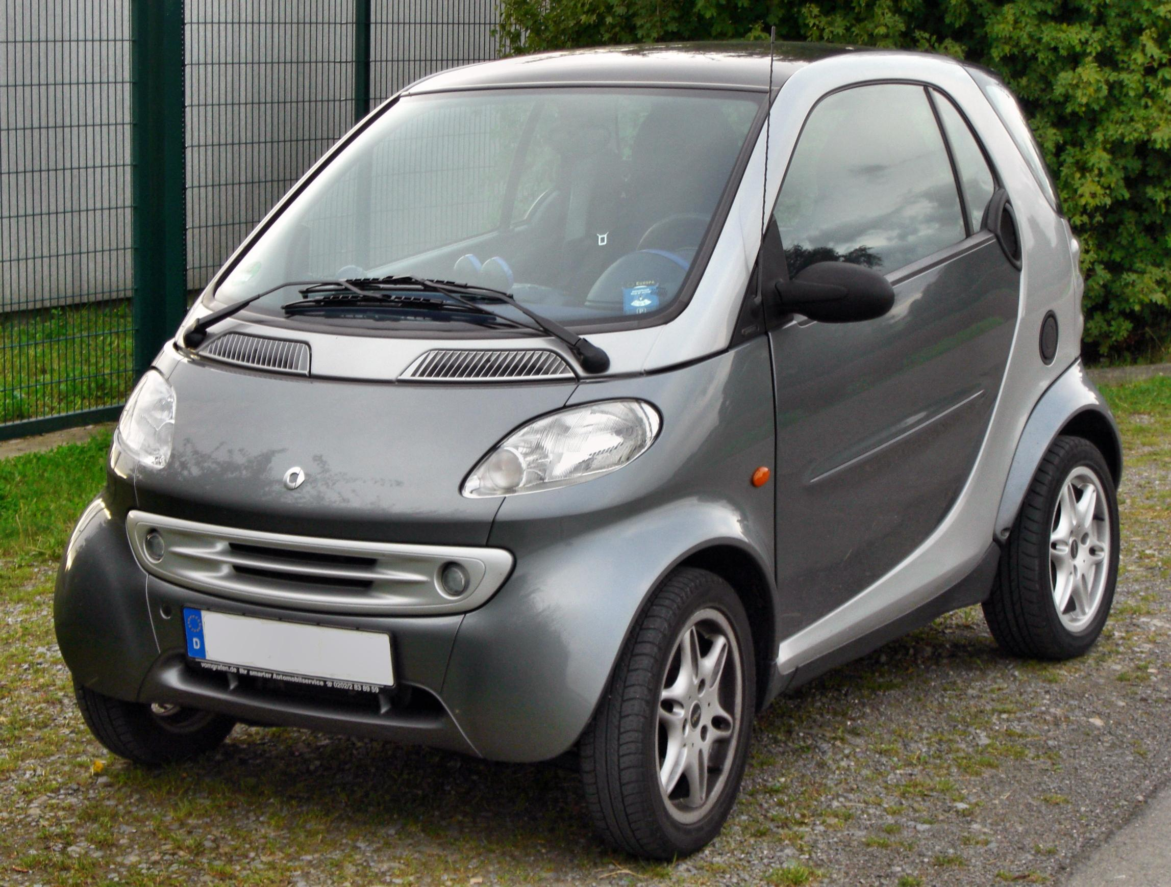 FileSmart Fortwo passion frontJPG  Wikimedia Commons