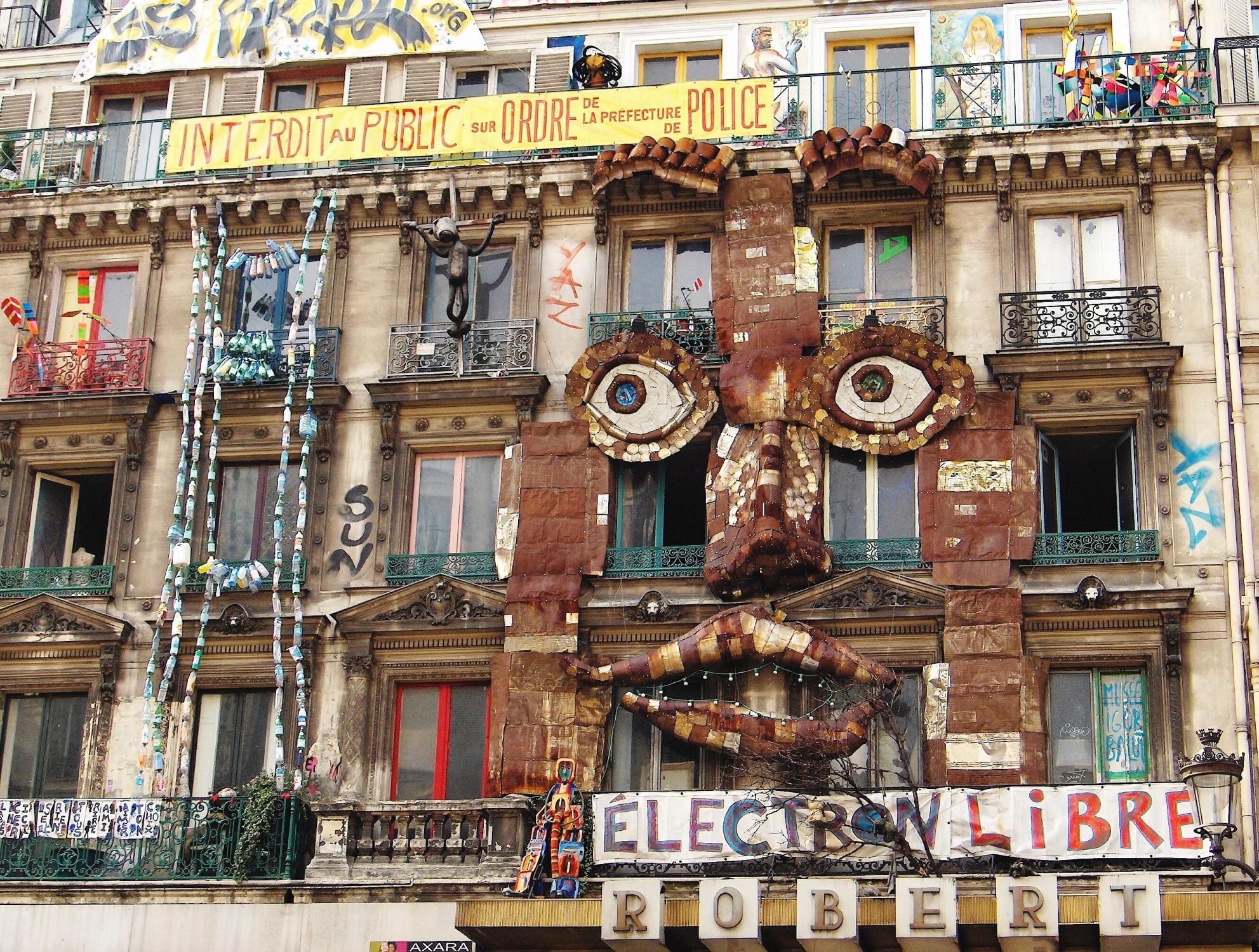 File squat paris 59 rue de rivoli 1er ardt jpg wikimedia commons - La quincaillerie paris 10 ...