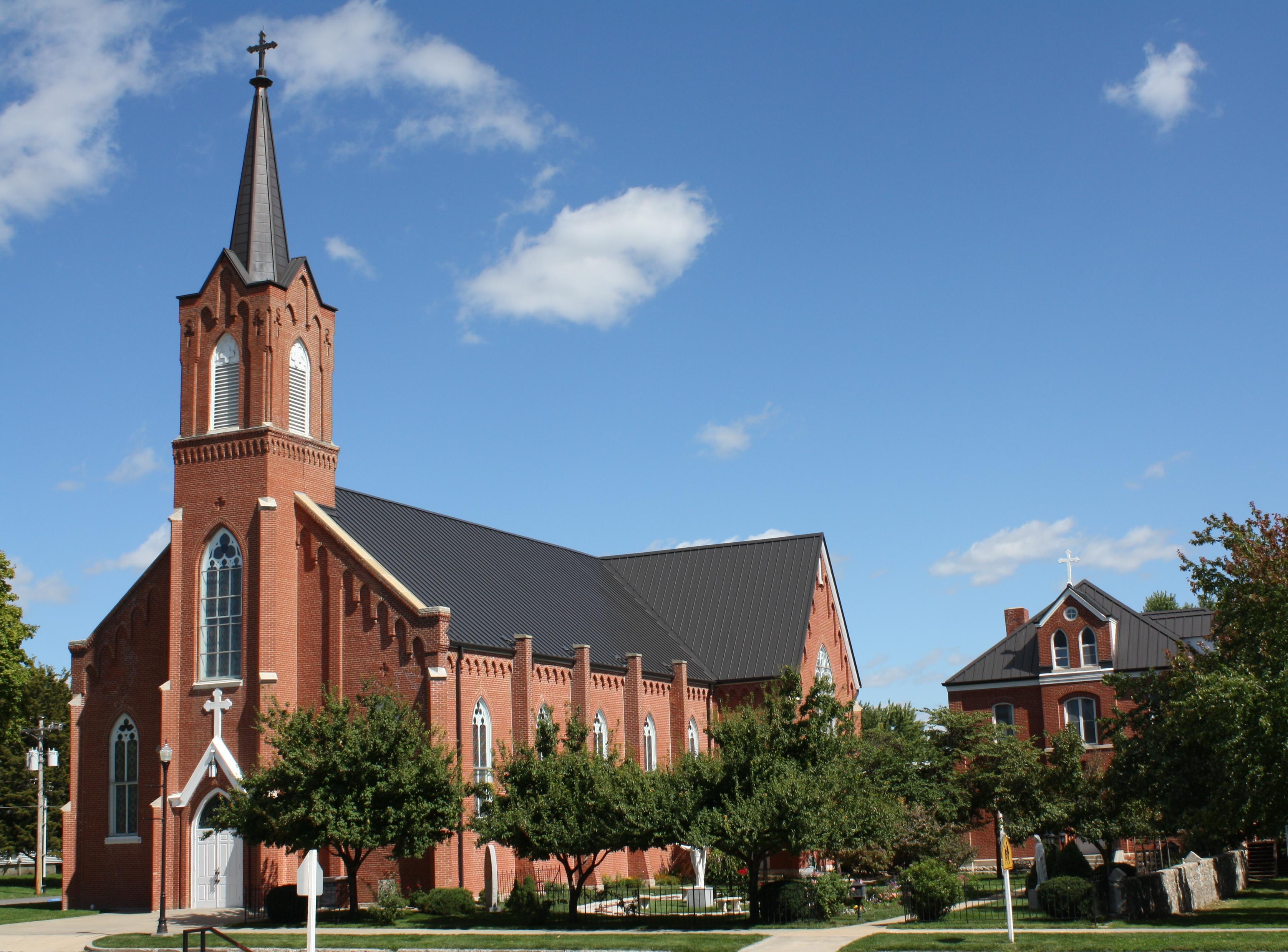 St. Columban Catholic Church, Chillicothe   Wikipedia
