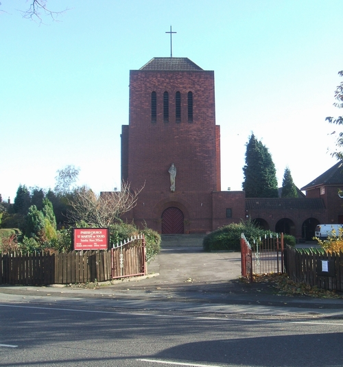 St Martins Church Parkfields Wolverhampton Wikipedia
