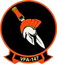 VFA-147 United States Navy aviation squadron based at NAS Lemoore, California, US