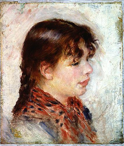 FileTête de jeune fille napolitaine  PA Renoir 1881