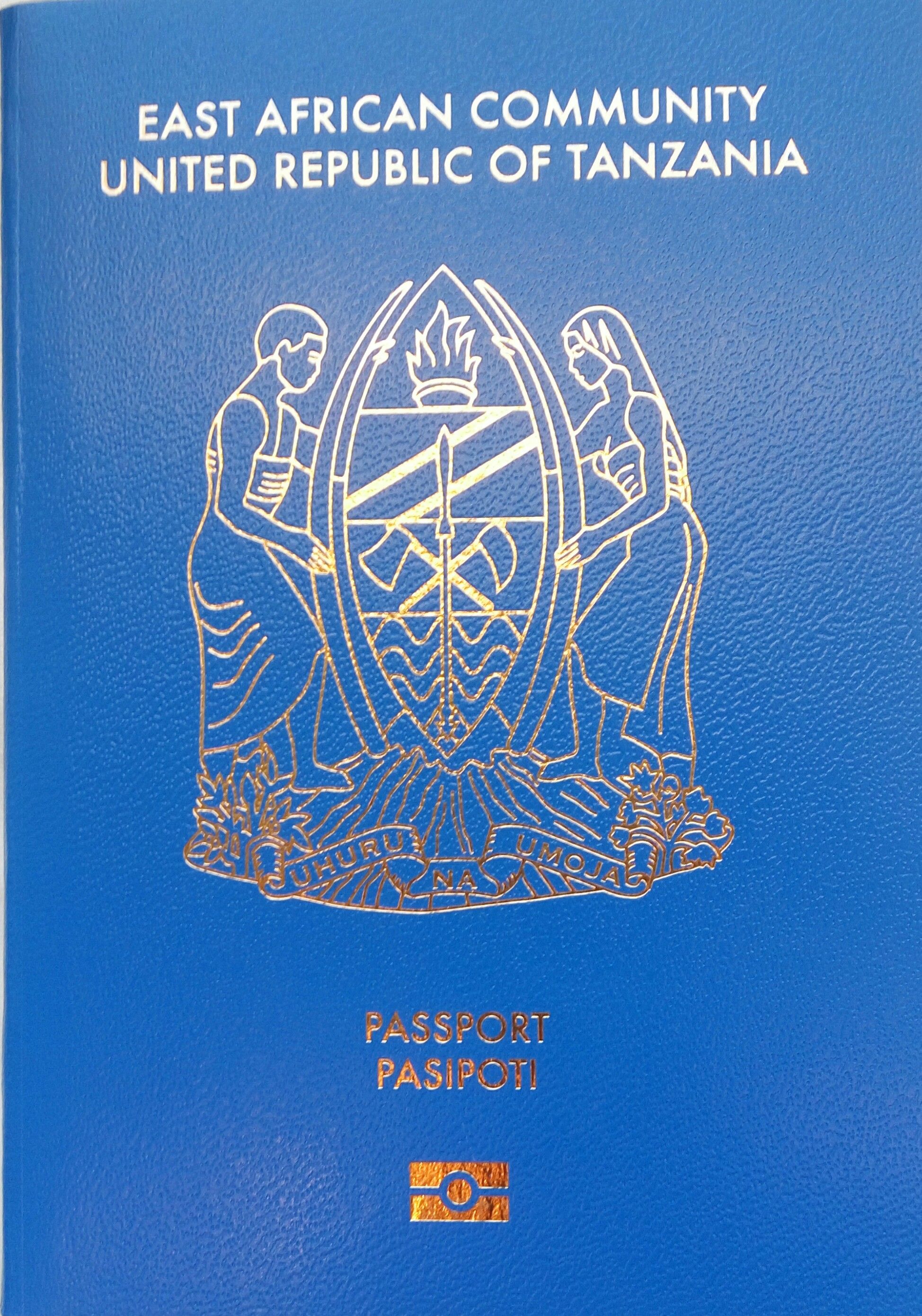 Tanzanian passport - Wikipedia