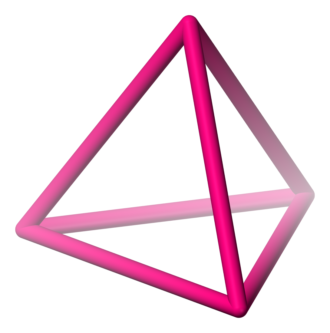 3d objects mind42 Ctangular Prism RX Triangular Prism Clip Art