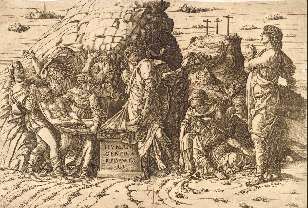 Ca s'est passé en septembre ! The_Entombment_by_Mantegna_Print_NGA