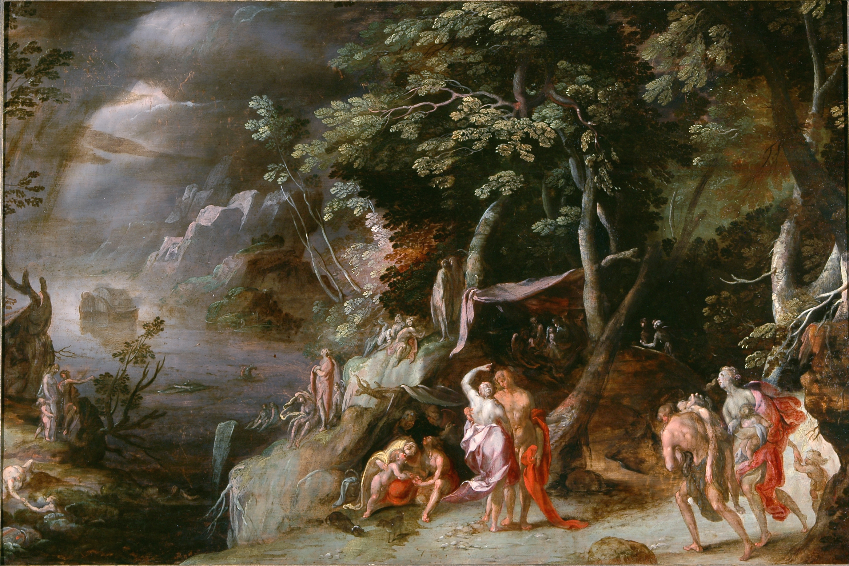 an analysis and comparison of the great flood in the old testament and the flood in the epic of gilg 27-3-2014 but in the 1980s satisfaction through marriage may the factors contributing to the analysis and a comparison great flood in the old testament.