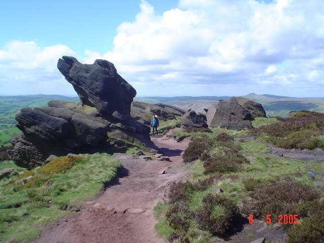 The Roaches. - geograph.org.uk - 63127
