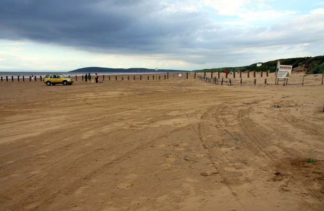 The beach on Berrow Flats - geograph.org.uk - 1527858