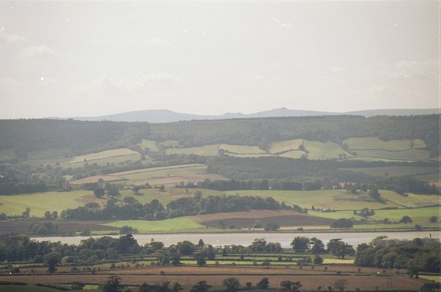 The view from Woodbury Common - geograph.org.uk - 131308