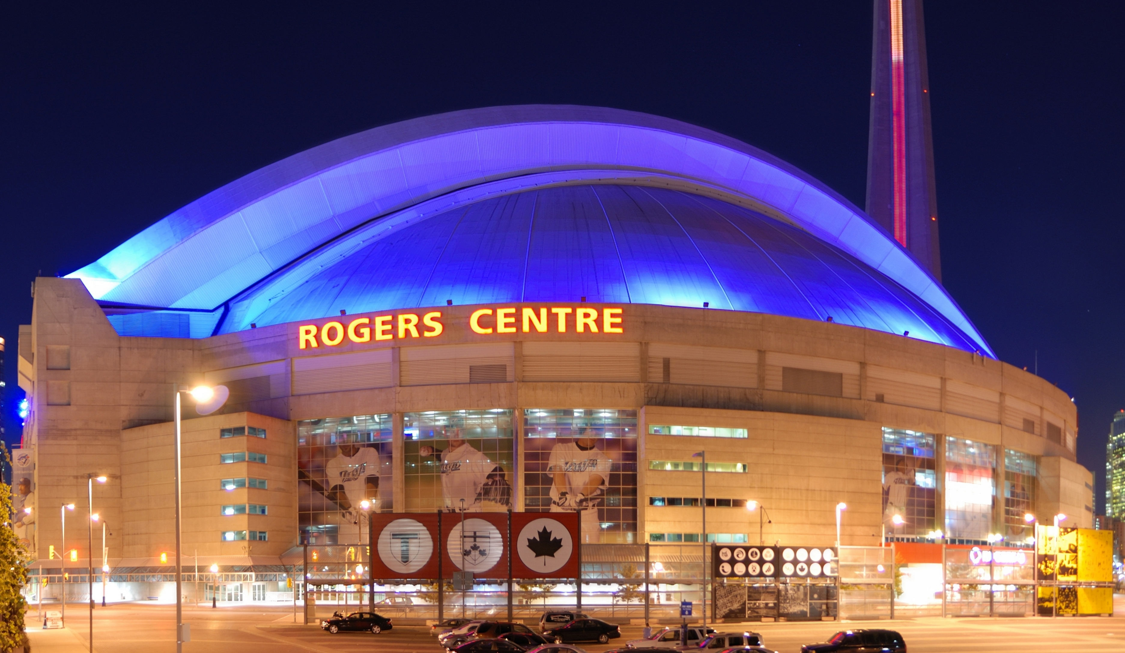 how tall is rogers center