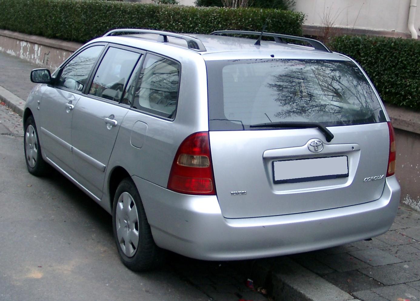 [Slika: Toyota_Corolla_Kombi_rear_20080103.jpg]