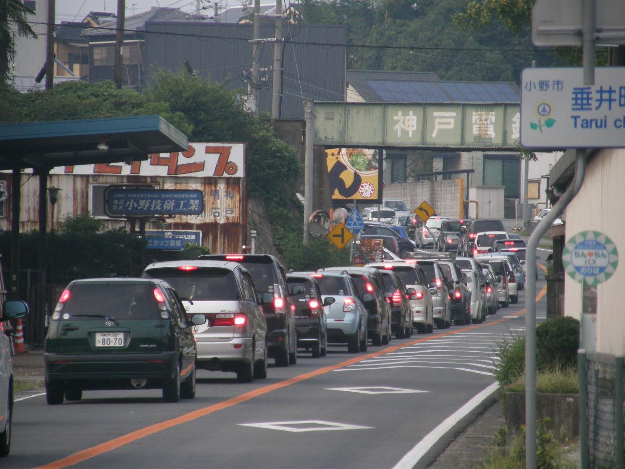 Traffic On  Palm Beach County