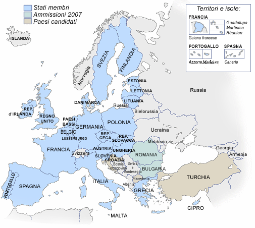 25 union europea: