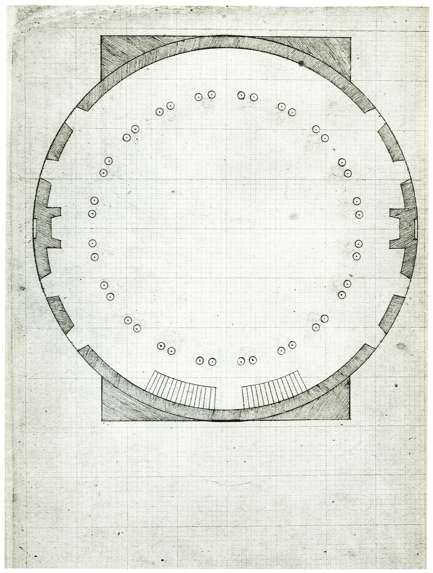 Fileuniversity Of Virginia Rotunda Plan Dome Roomjpg Wikimedia