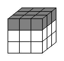 Up layer of a Rubik's Cube.jpg