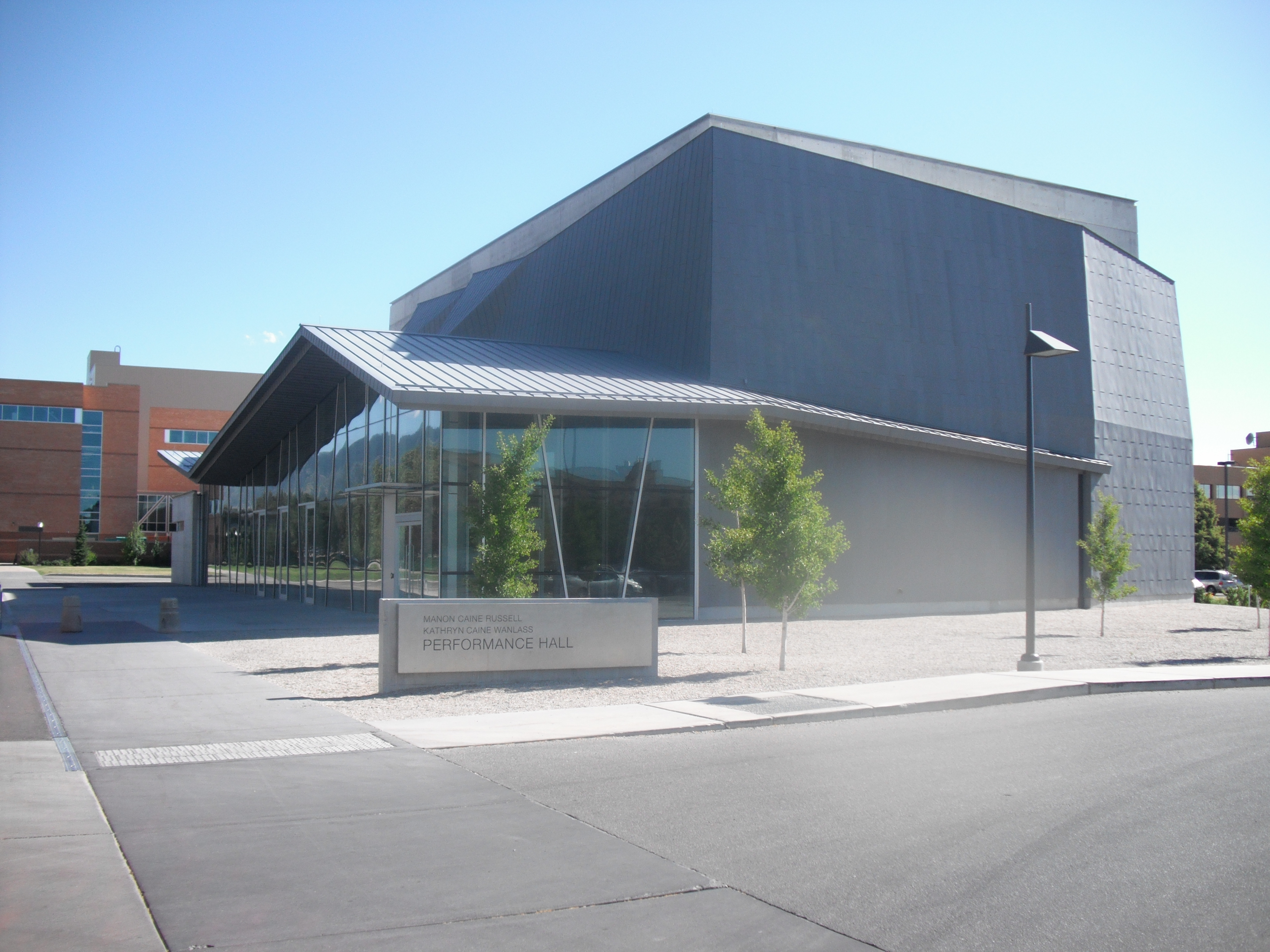 Performance Hall (Utah State University) - Wikipedia