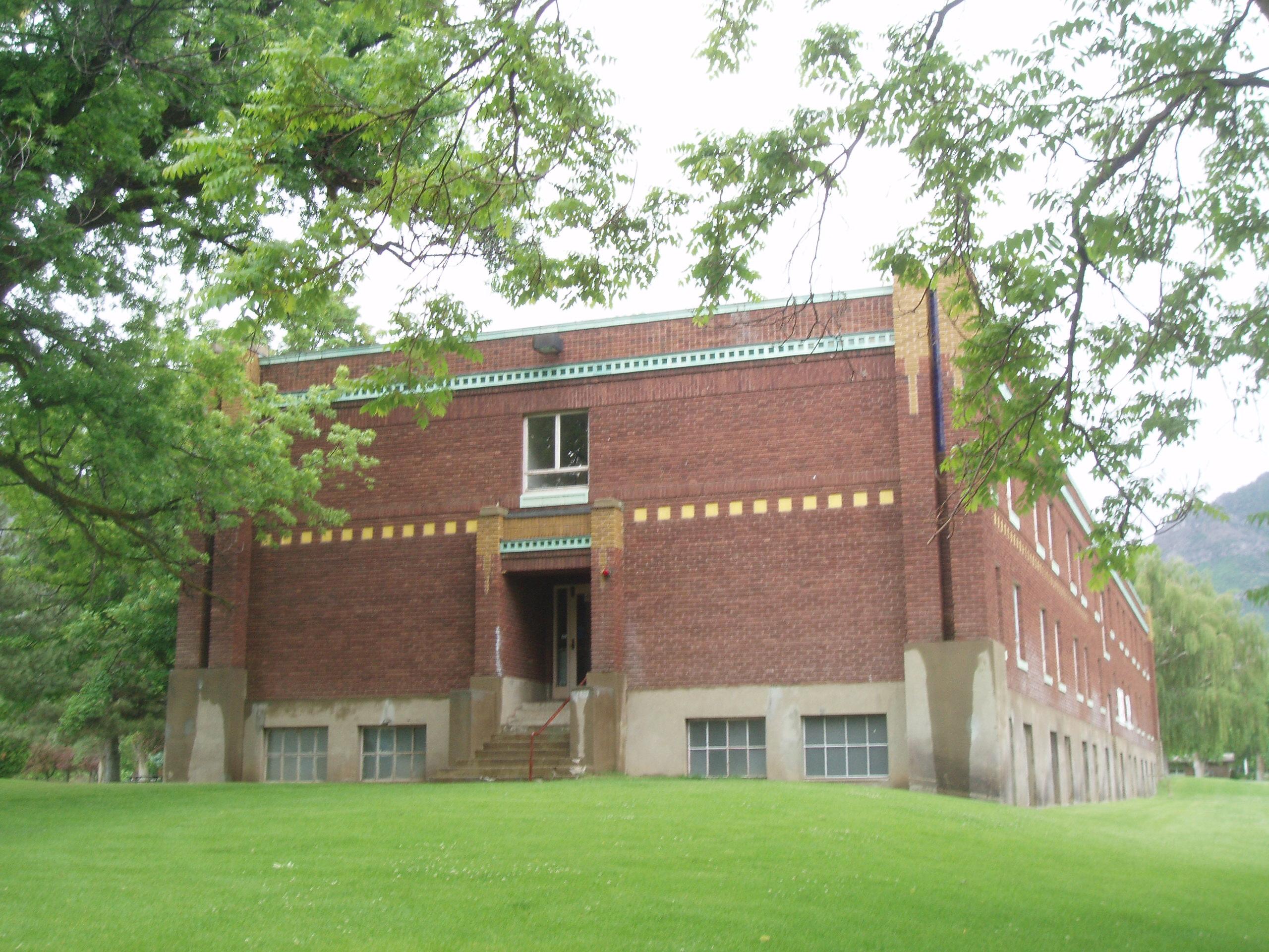 File Utah School for the Deaf and Blind Boys Dormitory Ogden Utah