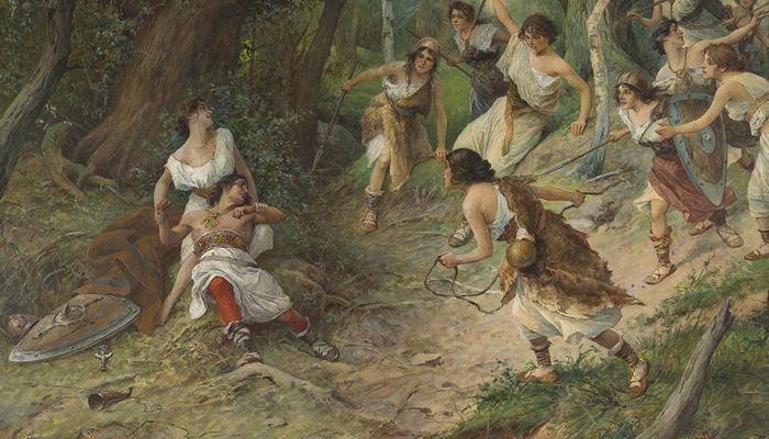 Икона для активных феминисток - Красные девы Власты Мифы