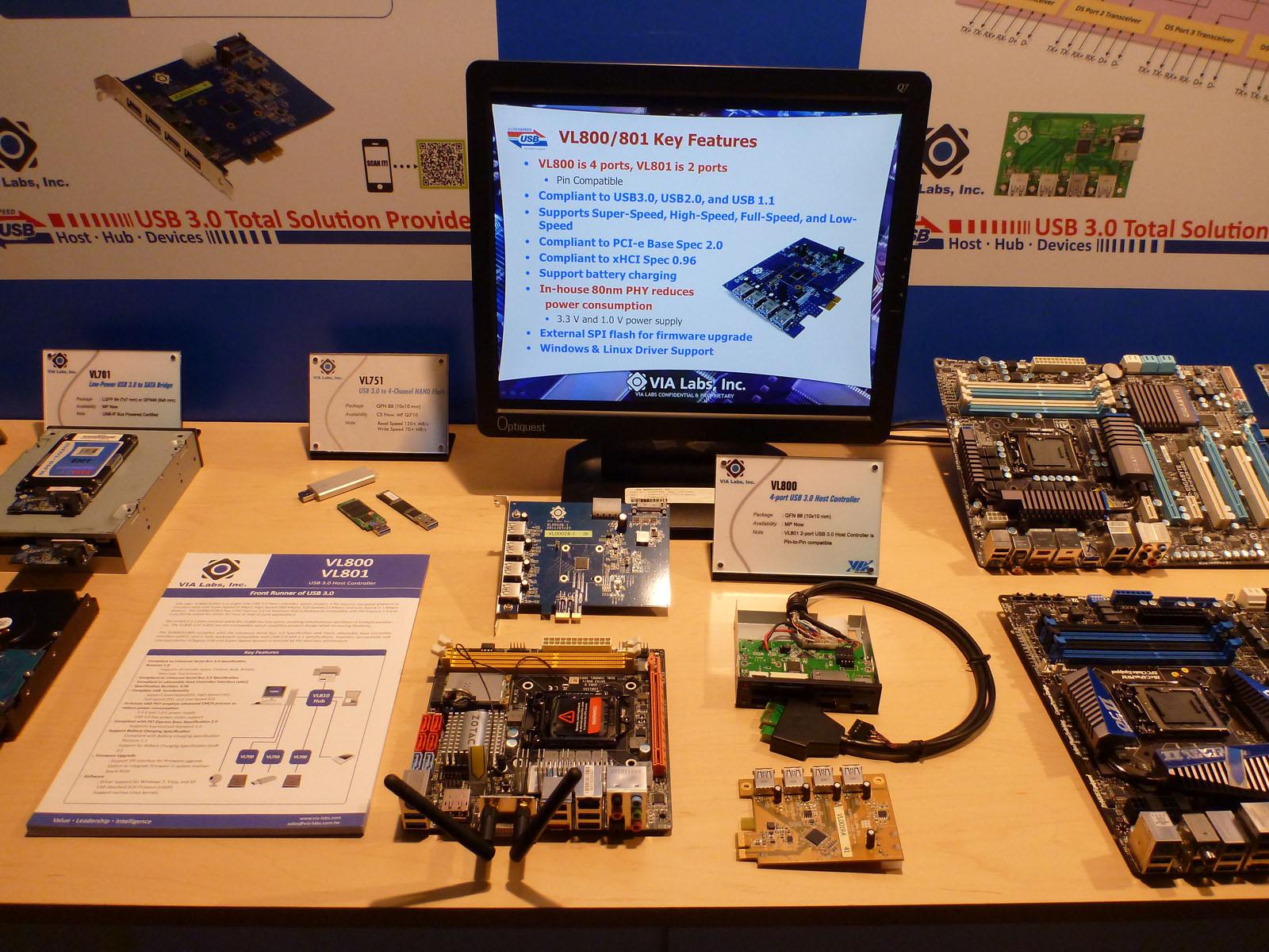 VIA VL800/801 USB 3.0 Host Controller 64x