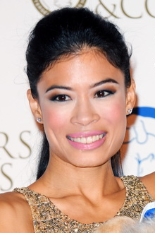 Vanessa-Mae attends the 'Collars & Coats Gala Ball', October 2014