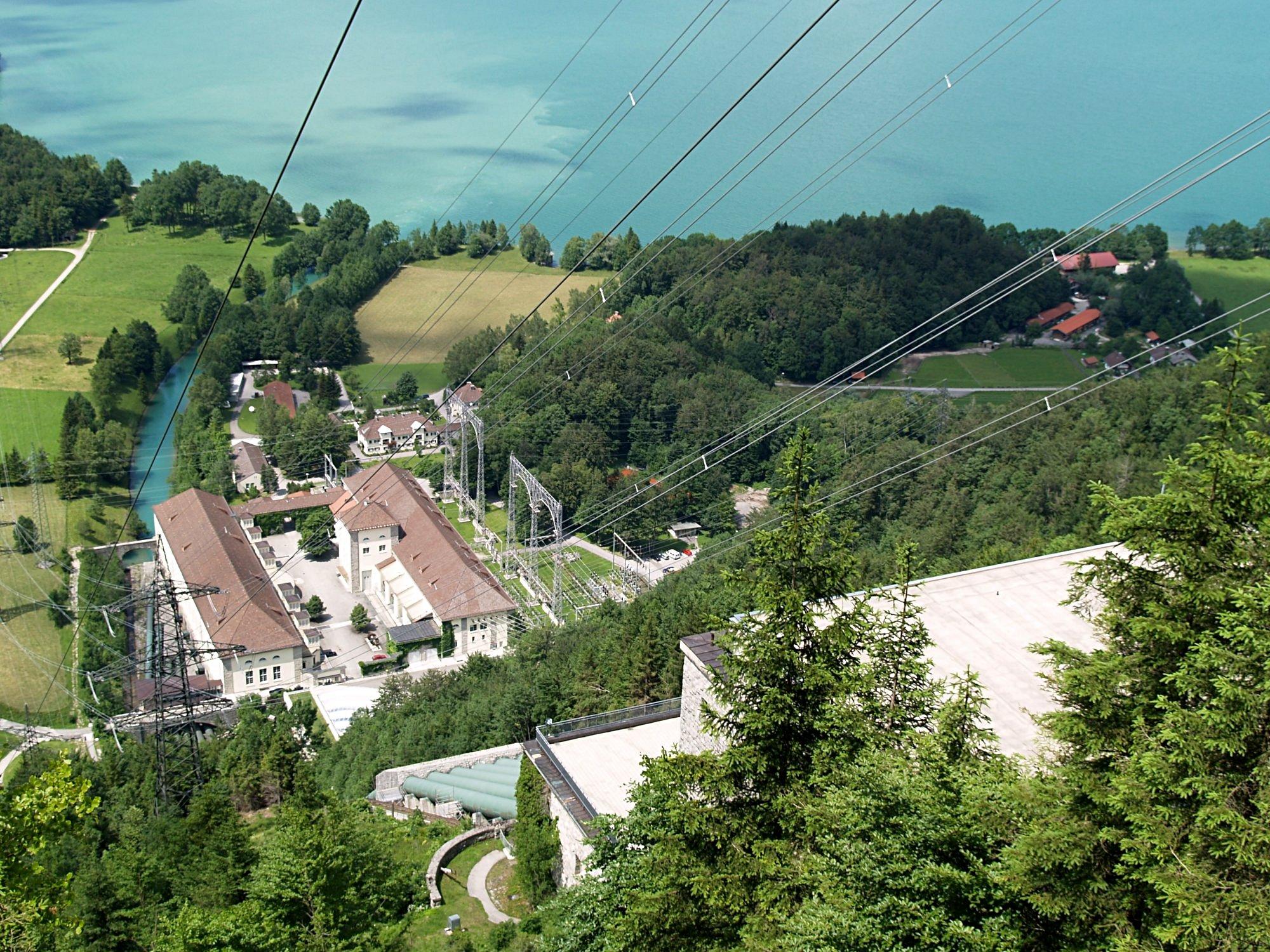 Walchensee vannkraftverk