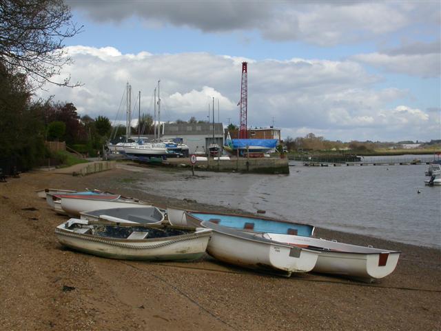 Waldringfield Boat Yard - geograph.org.uk - 161628