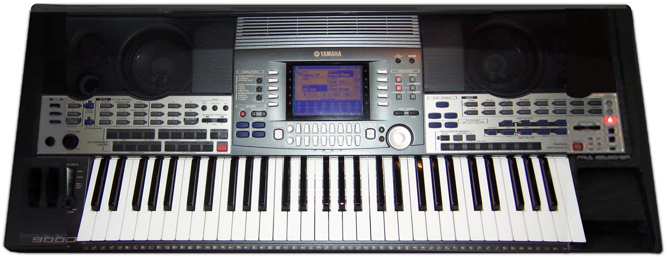 Yamaha Keyboard History