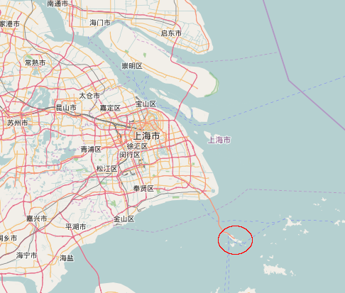 Yangshan Deep-Water Port locator map.png